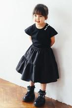 CRINOLINE DRESS MINI BLACK