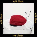 【01920】 1/6 KGB Hobby ロシア MVD Maroon ベレー帽