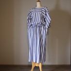 R&D.M.Co-/OLDMAN'S TAILOR オールドマンズテーラー Stripe D/String Dress