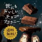 【ネコポス・送料無料】世にもおいしいチョコブラウニー9個入