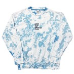 Don't wear like everyone does. Tie-Dye Embroidery Sweat