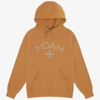 Zebra Embroidered Core Logo Hoodie(Cathay Spice)