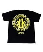 RAKUGAKI 3RD ANNIVERSARY T-Shirts Cabon Black×Neon Yellow