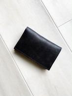 メンズ革小物 カードケース 本革 オイルレザー ブラック 名刺入れ パスケース