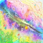 絵画 絵 ピクチャー 縁起画 モダン シェアハウス アートパネル アート art 14cm×14cm 一人暮らし 送料無料 インテリア 雑貨 壁掛け 置物 おしゃれ ロココロ イラスト 画家 : 志摩飛龍 作品 : きせき