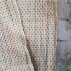 """チェンマイ かわいい刺繍のカラフル""""はぎれ""""約1m×約1m"""