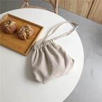 【送料無料】巾着バッグ ♡ 大人可愛い シンプル 肩掛け ミニ ショルダーバッグ