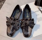 lamé ribbon loafer 2color