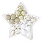 クリスマス パーティーオーナメント 3cmボール20個セット ゴールド02/浜松雑貨屋 C0pernicus