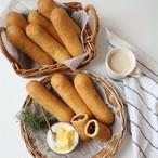 4種類の揚げパンお試しセット(8個セット)【カレーパン・ぜんざいパン・チーズフォンデュ・ピッツァ】