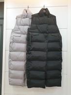 ミニマルロングぺディンベスト ベスト アウター 韓国ファッション