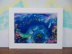 【プリントアート・2L】海に咲く命