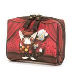 お菓子BABYころんポーチ 赤い部屋のマカロン 猫のダヤン わちふぃーるど
