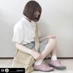 【送料無料】 チャイナドレス風♡ 丸襟 ブラウス レトロ シンプル カジュアル