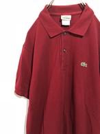 古着【LACOSTE】ポロシャツ ラコステ 90年代ファッション 0224