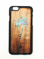 アイフォンケース ヤシの木 シェル 貝 iPhone6 iPhone6s ウクレレ・ラボのコアの携帯ケース uk-4