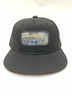 キャップ フラットバイザーキャップ 【ブラック】 帽子 サムネイル