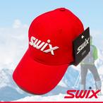 Swix スウィックス ベースボールキャップ PRキャップ レッド 帽子 PR300