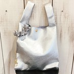 Bag in Batako Bag &Charm (Silver bag) S size