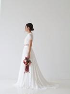 Honey♡総レースのセパレートドレス