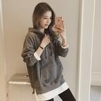 【tops】ファッショントレンドシンプルパーカー15010740