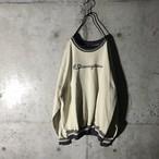[Champion]cream color vintage sweat