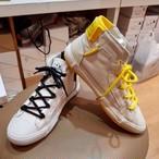 リアルレザーバックテープスニーカー スニーカー 韓国ファッション