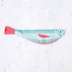 《魚》 おさかなポーチ DON FISHER ドンフィッシャー VERDIN 地中海のさかな スペイン 輸入雑貨 ブルー×ピンク