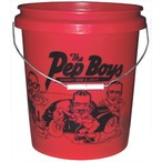 Pep Boys private label bucket