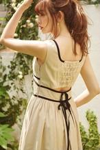 Back Double Bow Midi Dress