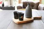 温度で変化する酒器〜紅葉・黒〜 SP3J52-25  *丸モ高木陶器* お酒をより楽しむためのおしゃれな酒器!