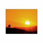 「あの日の夕焼け空」フォトパネル(W23×H18)