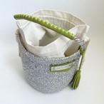 [ 限定即納 ] Eco one-handle Kago Bag / platinum color