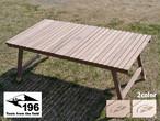 196 ひのきのキャンプ用品 ウォールナットテーブル KUROSON370 196hinoki-088 アウトドア キャンプ ロースタイル ユニフレーム 高さ 37cm
