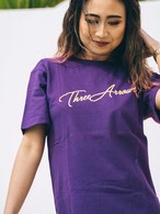 ThreeArrows S/S TEE(purple)