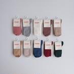 Condor Rib Short Socks(全10色/4(14.5-17cm),6(17-19.5cm))