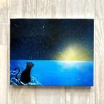 「良い予感」 キャンバスパネル風景画 F3号