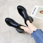 【shoes】アンクルブーツ定番合わせやすいレディースショートブーツ