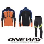 ONE WAY クロスカントリースキー オーバージャージ レディース レボリューシュン オーバーセット ow711316