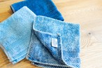 FADE DENIM -Towel Handkerchief-