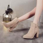 【shoes】上品レディな足元チャンキーヒールシューズ25244787