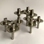 Nagel / 60's Vintage Candle Holder 3pc set _02(ドイツ ナゲル社 60's ヴィンテージオブジェ/キャンドルホルダー 3個セット)
