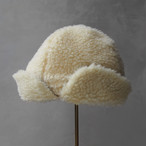 Nine Tailor Coatherd cap ivory