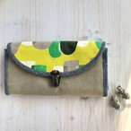 カードがすっきり収納★長財布(キイロ)