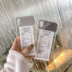 【オーダー商品】Receipt mirror iphone case