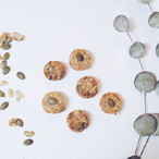 低GI くるみ&パンプキンシードクッキー(6個入り)