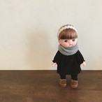 メルちゃんのお洋服 : ワンピースとスヌードのset