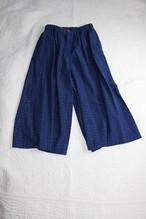 パンツ  PT 03   藍染絣柄(M46)