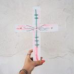 Wood Cross《PINK》