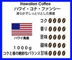 【希少コーヒーの定番品!!】ハワイ島産 ハワイ・コナ・ファンシー 1Kg 30000円